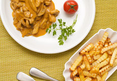 Zurich ragout Royalty Free Stock Images
