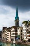 Zurich Schweitz Royaltyfria Bilder