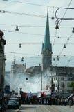 Zurich Schweitz - May 1 Arkivfoto