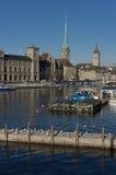 Zurich - Schweiz Royaltyfri Fotografi