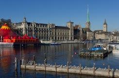 Zurich - Schweiz Arkivbild
