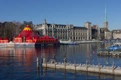 Zurich - Schweiz Royaltyfri Bild