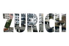 Zurich sign Stock Image