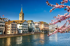 Zurich at spring Stock Image