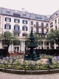 Zurich stad, Schweiz - lopp i det Europa begreppet royaltyfri bild