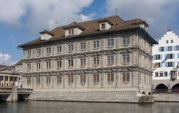 Zurich stadshus Arkivfoton