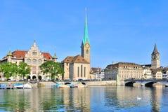 Zurich, Stary miasteczko Zdjęcia Stock
