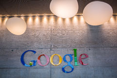 ZURICH, SUISSE, Google Corporation Recept images stock