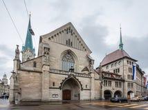 Zurich Suiza Foto de archivo libre de regalías