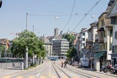 Zurich Suiza Imágenes de archivo libres de regalías
