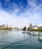 Zurich in summer Stock Photo