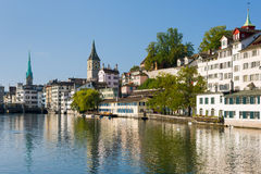 Zurich in a summer morning Stock Photo