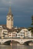 Zurich in Switzerland Royalty Free Stock Photos