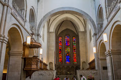 Zurich Switzerland Cathedral Royalty Free Stock Photography