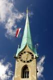 Zurich (Switzerland) Church Close Up. Stock Images
