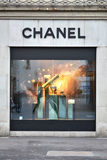 ZURICH, SWITZERLAND - DECEMBER 29, 2013 - Chanel, a high fashion Stock Image