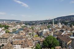 Zurich Switzerland Fraumunster Church Royalty Free Stock Photo