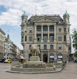 Zurich Switzerland Historical Building Royalty Free Stock Images