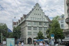 Zurich Switzerland Historical Building Royalty Free Stock Photo