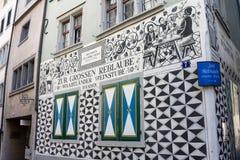Zurich Switzerland Historical Building Stock Image
