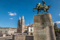 Zurich Switzerland. Nice view of Old town and River Zurich Switzerland Stock Images