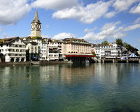 Zurich (Switzerland) Old town view. Stock Photography