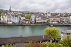 Zurich Switzerland Preidiger Church Royalty Free Stock Photo