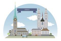 Zurich, Szwajcaria Obraz Stock