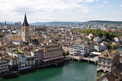 Zurich from the top Stock Photos