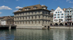 Zurich Town Hall building Royalty Free Stock Photos