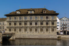 Zurich town hall. The Zurich town hall is the Rathaus of Zurich, Switzerland.It was built in 1694-1698 Royalty Free Stock Photography