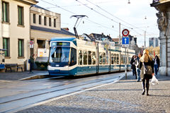 Zurich tram 2 Royalty Free Stock Photos