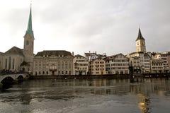 Zurich Turystyczny widok - 08 Zdjęcie Stock