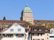 Zurich university tower Royalty Free Stock Photography