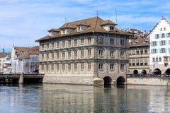 Zurich urzędu miasta budynek Fotografia Royalty Free