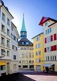 Zurich vieja 2 Imágenes de archivo libres de regalías