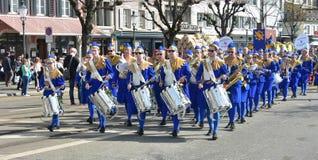 Zurich wiosny wakacyjna parada Obraz Royalty Free