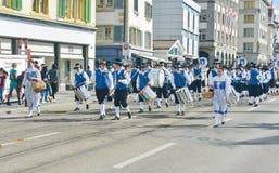 Zurich wiosny wakacyjna parada Fotografia Royalty Free