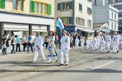 Zurich wiosny wakacyjna parada Zdjęcia Stock