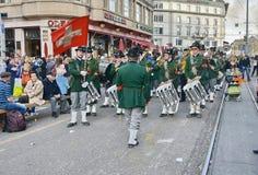 Zurich wiosny wakacyjna parada Obrazy Stock