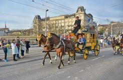 Zurich wiosny wakacyjna parada Obraz Stock