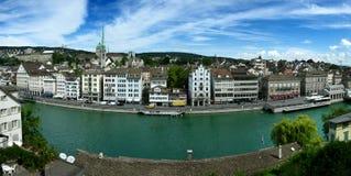 Zurich/Zurigo en Suiza Foto de archivo libre de regalías