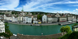 Zurich/Zurigo in Switzerland Royalty Free Stock Photo