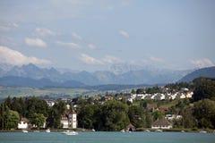 Zurichsee Stockfotografie