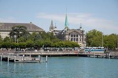 Zurichsee. Zurich see - lake near Zurich, Swiss Stock Images