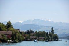 Zurichsee. Zurich see - lake near Zurich, Swiss Royalty Free Stock Images