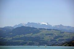 Zurichsee. Zurich see - lake near Zurich, Swiss Stock Photo