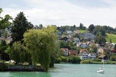 Zurichsee. Zurich see - lake near Zurich, Swiss Stock Image