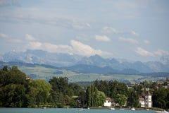 Zurichsee. Zurich see - lake near Zurich, Swiss Royalty Free Stock Photo