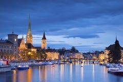 Zurigo. Immagine Stock